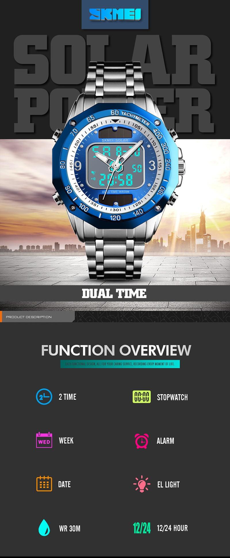 HTB1iJmkUNjaK1RjSZFAq6zdLFXaG Solar Men Military Sport Watches Men's Digital Quartz Clock Full Steel Waterproof Wrist Watch relojes hombre 2019 SKMEI