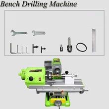 Wood Beads Processing Machine Household High Precision Mini Lathe Miniature Beads Machine Automatic Mini Bench Drill DT-1009