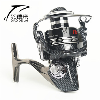 High quality 9000-10000 Series 12+1 Ball Bearing Fishing Reels 5.2:1 Gear Ratio All Metal Line Cup Spinning Large Fishing Wheel