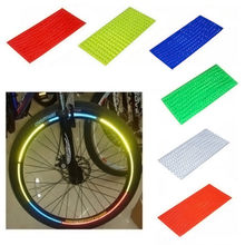 Tl MTB Fiets Sticker Fiets Velg Reflecterende Decal Fiets Fiets Velgen Licht Reflecterende Stickers(China)