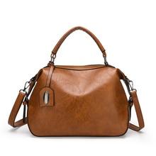 Deisgner Crossbody Bags For Women 2019 Ladies Messenger Bag Vintage Solid PU Leather Handbag Shoulder Bag Female Bolsas Feminina цена