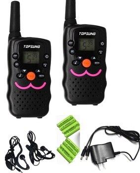 Long Range Two Way Radios | 2pc Twin VT8 FRS Walkie Talkie CB Radio Hf Transceiver 1W Long Range Woki Toki Amateur UHF 2 Way Radios With Charger Batteries