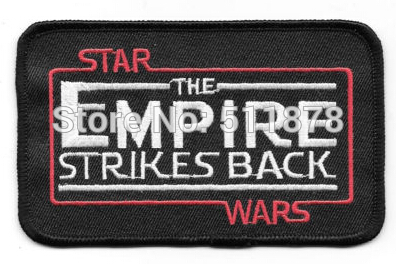 4 5 Star Wars The Empire Strikes Back Name Logo Movie TV Series Fancy Dress Costume