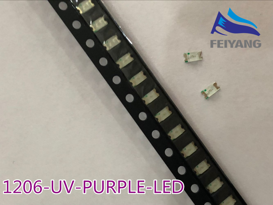 Responsible Smd Chip 5630 5730 Smd Smt Uv Purple Light Chip Lamps 395-400nm Super Bright Light Emitting Diode Led Bulb 100pcs To Enjoy High Reputation In The International Market Active Components Diodes