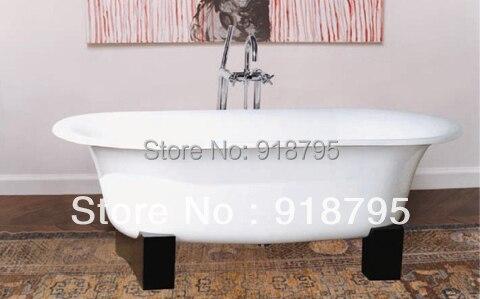 Heimwerker Sanft Freies Verschiffen Luxus Badewanne Verwenden Für Indoor Gusseisen Doppelseitige Badewannen Weder Zu Hart Noch Zu Weich