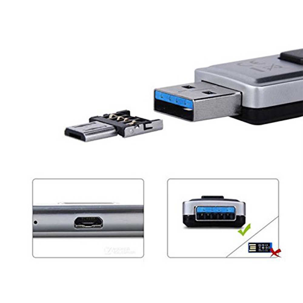 NYFundas micro usb OTG разъем адаптера для huawei mate 20 X honor V10 9 mate 10 pro p10 microusb Android смартфон флэш-диск