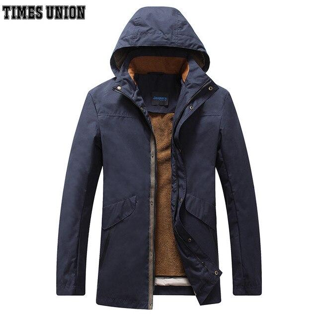 Winter Jacket brand Men 2016 New Winter Men's down Jacket Coats Casual Thick Outwear For Men Removable inside European size 7XL