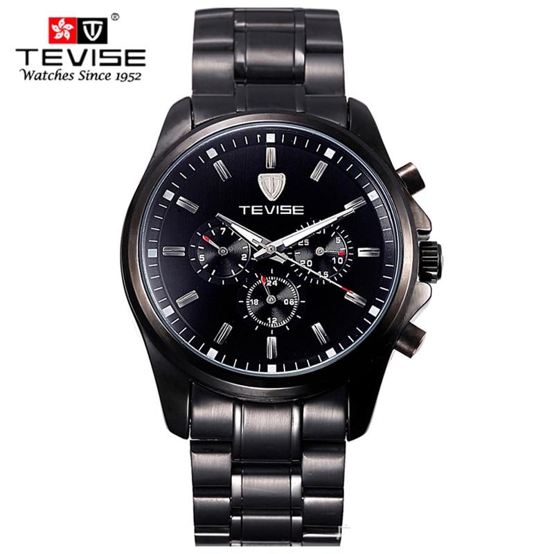 Luxury Six pin multi functional Men Watches Top Brand Fashion automatic mechanical Watch men Casual Clock