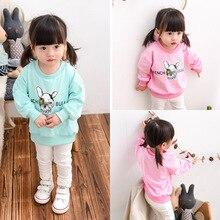 Wear a small girl on behalf of 2016 Korean children's cartoon dog sweater shirt L021