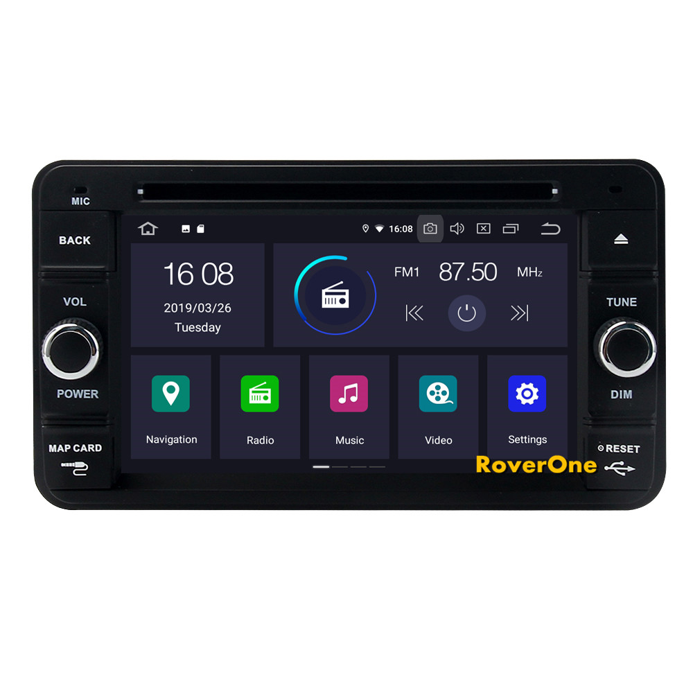Sale For Suzuki Jimny 2007 - 2013 Android 9.0 2G+16G Quad Core Autoradio Car DVD Radio Stereo GPS Navigation Multimedia Player 6