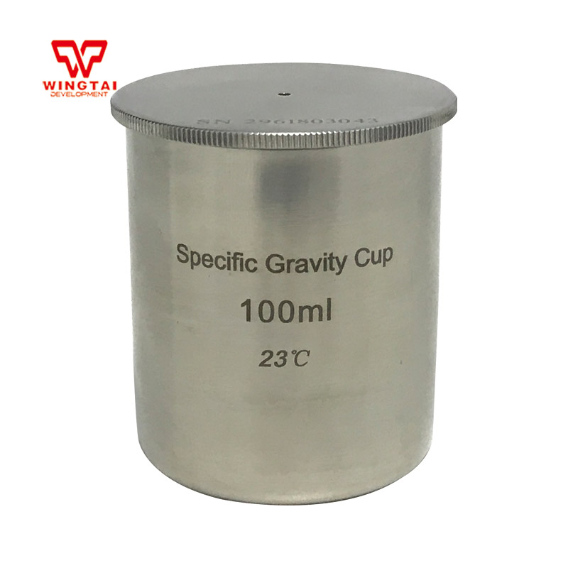 BGD296/5 100cc/ml High Quality Stainless Steel Density Cup/Capacity Specific Gravity Cup high quality 37ml stainless steel density specific gravity cups with din 53217 iso 2811 and bs 3900 a19 standard