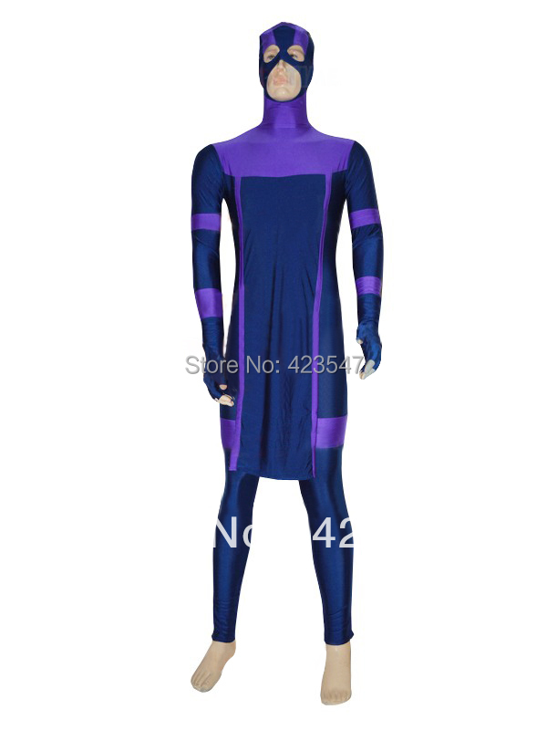 Dark blue & purple The Avengers Marvel New Hawkeye Superhero Costume Carnival Party Halloween costumes