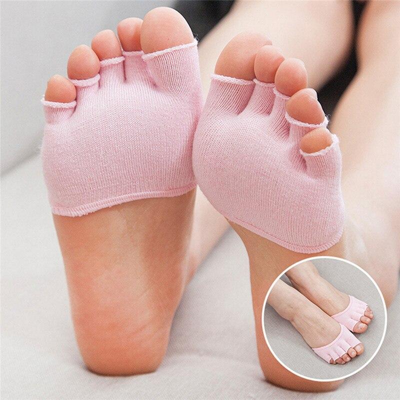 Silizium Socke Vorfuß Pad Verhindern Kallus Blister Vorfuß Dämpfung Für Männer Und Frauen Größe S Letzter Stil haut Farbe