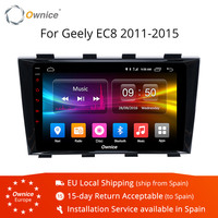 Ownice K1 K2 K3 Android 9,0 Octa Core Двойной Дин Автомагнитола радио плеер для Geely EC8 2011 2015 Поддержка DAB + TPMS Carplay