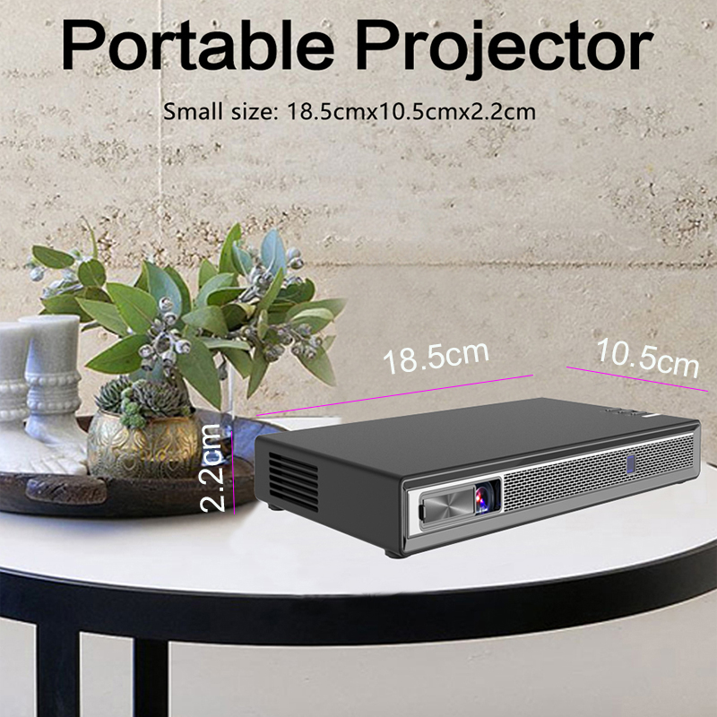 Image 5 - Smartldea Full HD 4K 3D Projector Battery Android 6.0 WiFi LED DLP Smart Proyector with Zoom, Auto Keystone,Bluetooth, Airplay-in LCD Projectors from Consumer Electronics