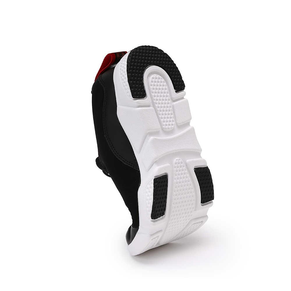 Balabala בני בנות להחליק על נעלי שרוכים פעוט לנשימה מזדמן נעלי ריצה עם אנטי- להחליק עיצוב סתיו