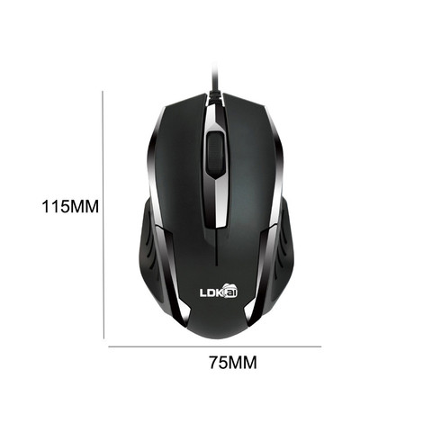 Brand Mouse Durable Gaming mouse 2018 New Mini Optical Mice USB 3D Wired Gaming 1200dpi Mouse For PC Laptop Lahore
