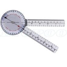 Профессиональная мультилинейка 360 градусов угломер спинальная линейка см/дюйм ПВХ