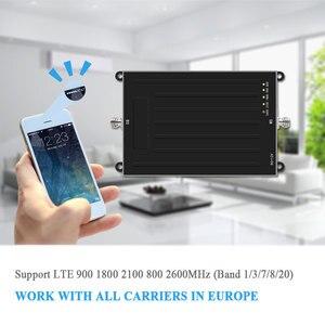 Image 2 - Amplificateur de Signal Lintratek Amplificateur Amplificateur de téléphone portable ALC AGC pour 2G 3G 4G LTE 900/1800/2100/800/2600MHz Amplificador Movil @