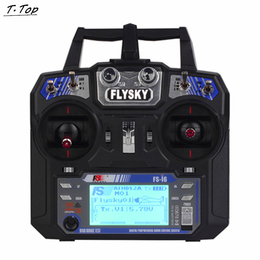 New 2 4GHz 6CH Flysky FS i6 AFHDS RC Transmitter With FS iA6 Receiver for Airplane