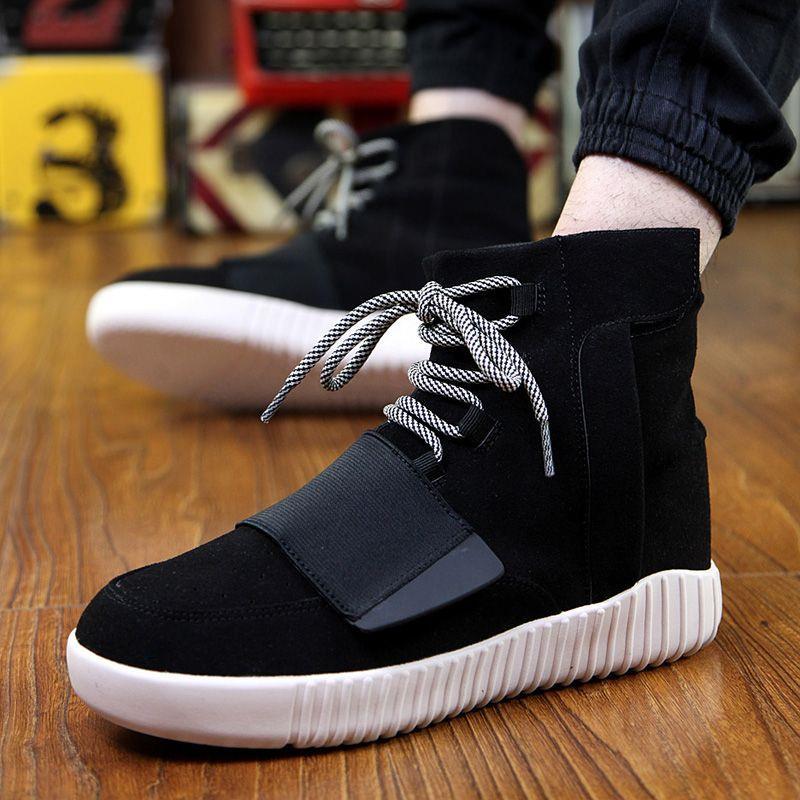 Prix pour Planche à roulettes Chaussures hommes femmes High Top En Plein Air Respirant Non-slip planche à roulettes Sport Traning Sneakers marche chaussures à la mode