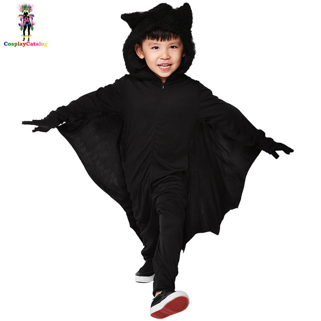 2017 Halloween Children Costumes Kids Bat Jumpsuits Boy/Girl Pretend Animal Bats Rompers High 105  sc 1 st  AliExpress.com & 2017 Halloween Children Costumes Kids Bat Jumpsuits Boy/Girl Pretend ...