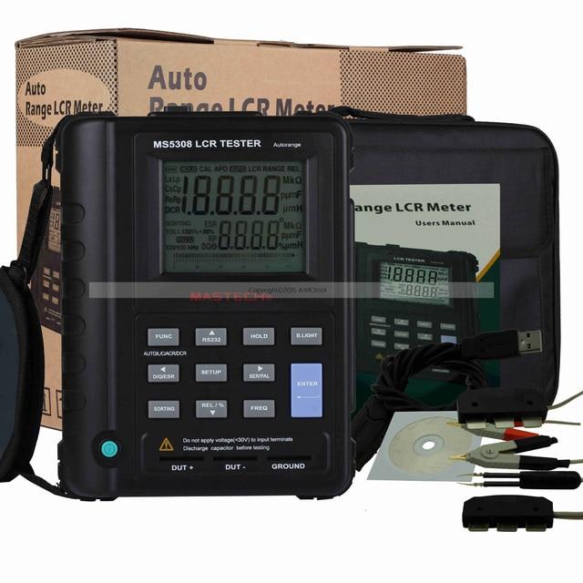 m118 mastech ms5308 lcr meter portable handheld auto range lcr meter rh aliexpress com agilent 4263b lcr meter user manual agilent 4284a lcr meter user manual