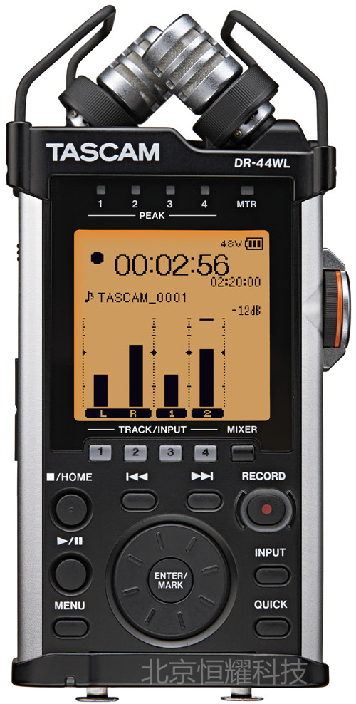 TASCAM DR44WL DR 44WL 4 channel portable HIFI recorder recording pen WIFI transmission control genuine licensed