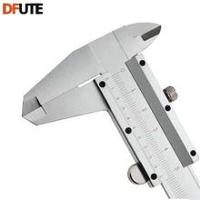 Discount! DFUTE free shipping 0-150 mm Stainless steel Vernier Caliper Scale Depth gauge Gauge Calliper stainless vernier caliper 150 mm
