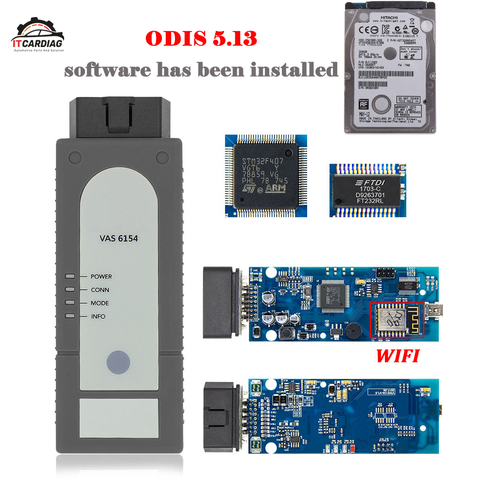 VAS 6154 ODIS V5.1.3 OKI Full Chip VAS6154 WIFI For Audi/Skoda Better Than VAS5054 With HDD ODIS Software Installed Support UDS VAS 6154 ODIS V5.1.3 OKI Full Chip VAS6154 WIFI For Audi/Skoda Better Than VAS5054 With HDD ODIS Software Installed Support UDS