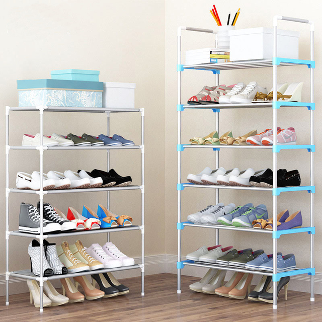 Shoe Rack Easy Assembled Plastic Multiple layers Shoes Shelf Storage Organizer Stand Holder Shoe cabinet Shoes & Shoe Rack Easy Assembled Plastic Multiple layers Shoes Shelf Storage ...