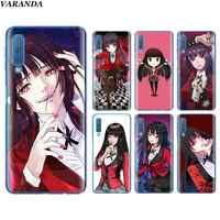 Kakegurui Anime Silikon fall für Samsung Galaxy A7 A6 A8 + Plus A9 2018 S10 Plus S10e M20 M30 TPU weiche Telefon fall