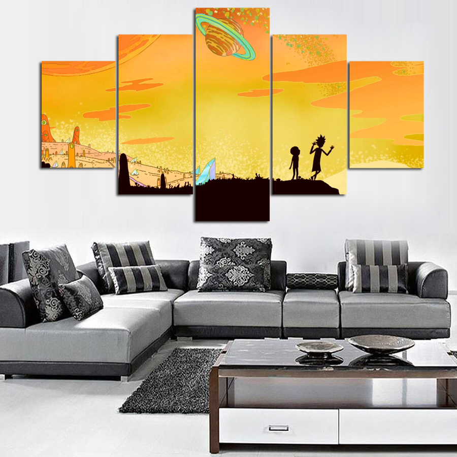 Awesome Outer Space Wall Art Images - The Wall Art Decorations ...