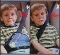Coche del cinturón de seguridad del coche ajuste engrosamiento Segura ajustar dispositivo de cinturón de seguridad del niño del bebé posicionador del cinturón protector