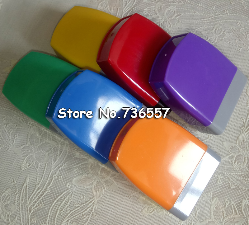 Free Shipping 10Pcs Rectangle 3011mm Holder Plus Rubber Pad For Photosensitive Portrait Flash Stamp Machine
