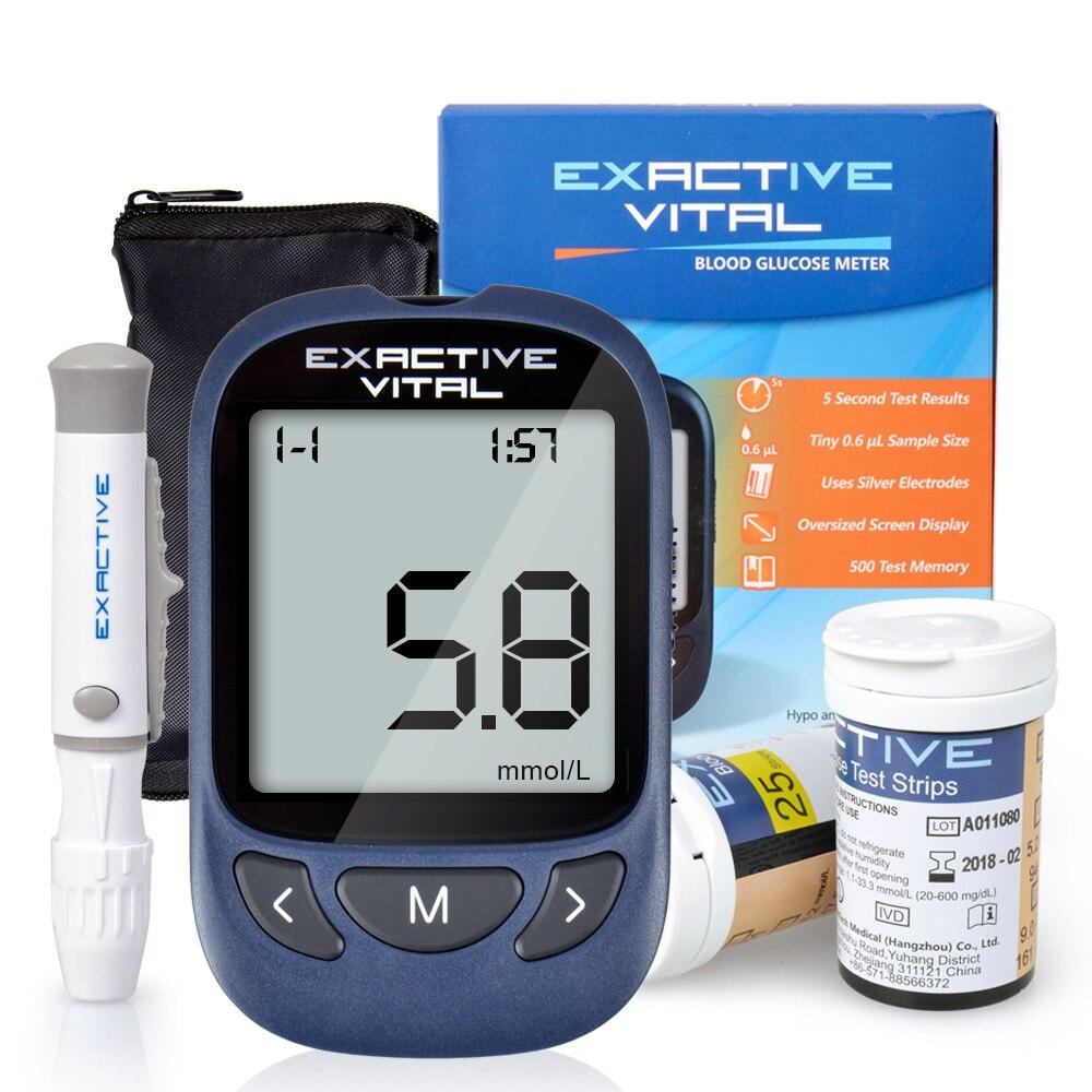 Microtech diabetes médica diabético detecção de açúcar no sangue medidor de glicose no sangue glucometro medidor de glicemia