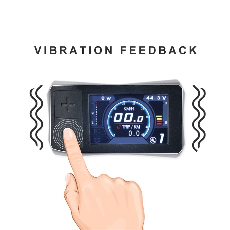 E-BIKE BAFANG 500C Mini Colorful Display For BBS Mid Drive Motor Conversion Kit