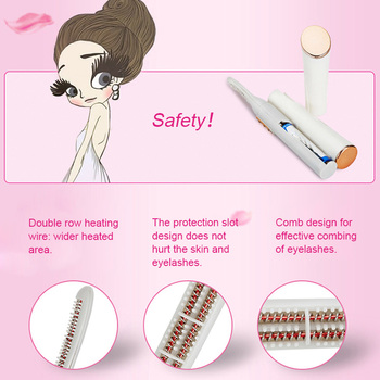 PRITECH Electric Eyelash Curler Pen Battery Powered Longer Thicker Eye Lash Curling Enhancer Makeup Tool Dropshipping #LD-7006 6