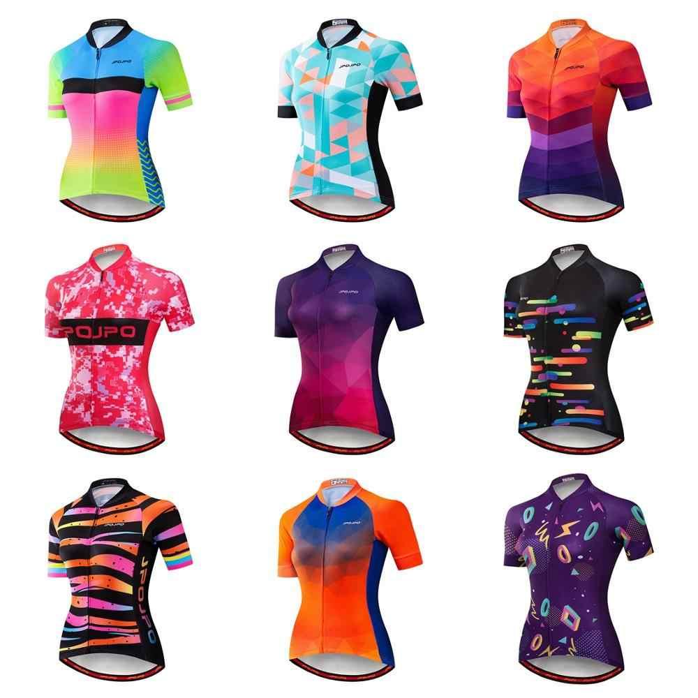 2019 Велоспорт Джерси Женская велосипедная одежда из Джерси для горного велоспорта Топ Maillot Pro командная одежда гоночная Дорога Горный Спорт Рубашка дышащая красная черная