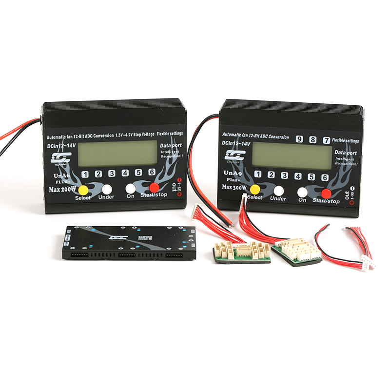 UNA6 6S UNA9 Plus 9S LiPo Li-polymer Balance Charger Battery Charging For RC Model Airplane