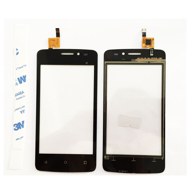 Touch Screen For FLY Fly FS404 Stratus 3 FS 404 Sensor Touchscreen Front Glass Panel Mobile Phone Accessories