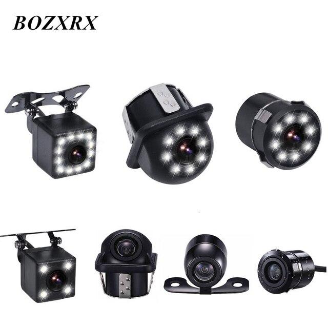 Bozxrx HD Авто CCD автомобиля обратный Камера Универсальный резервного копирования Камера заднего вида Камера IP69 Водонепроницаемый Камера s сзади монитор парковки