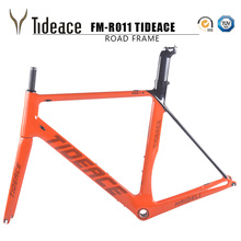 2017 tideace карбоновый шоссейный велосипед кадров гоночный велосипед рама велосипеды углерода дорожных рамка Велоспорт фреймов с вилкой Быстрая бесплатная доставка