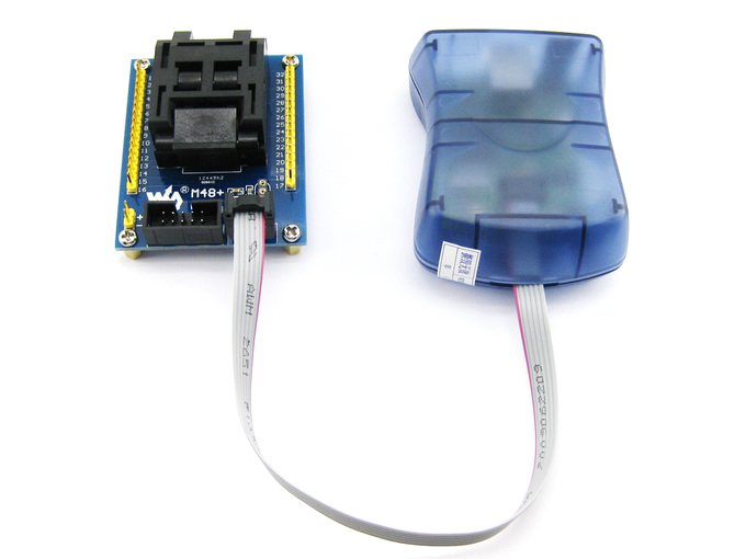 Waveshare USB AVRISP CH AVR ISP Programmer Compatible with AT AVRISP from  ATMEL Supports AVR Studio 4/5/6/7