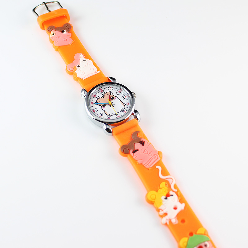 2018 New Fashion 3D Silicon Cartoon Character Kids Watch For Boys Girls Electronics Wrist Watches Children Quartz Watch