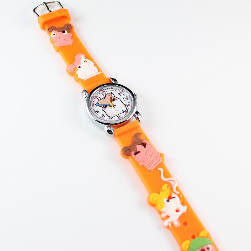 2018 New Fashion 3D Silicon Cartoon Character Kids Watch For Boys Girls Electronics Wrist Watches Children Quartz Watch