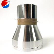 Трехчастотный 20 K/40 K/60 K пьезоэлектрика ультразвуковой чистящий преобразователь PZT8 120 ватт для ультразвуковой чистки ванны