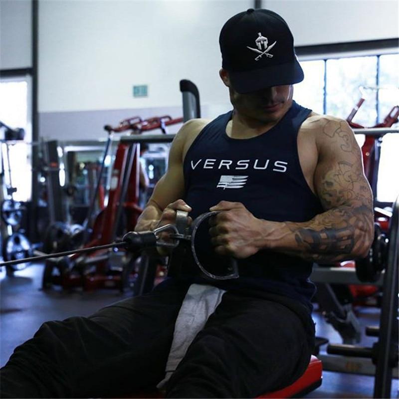 2018 Neue Männer Schlanke Schönheit Fitness Tank Tops Für Männlichen Sommer Casual Jogger Muscle Gymnasium Ärmellose Hemden Westen