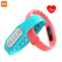 100% оригинал Сяо Mi band 1 S монитор сердечного ритма Смарт Браслет miband браслет для Android IPhone Шагомер фитнес- трекер