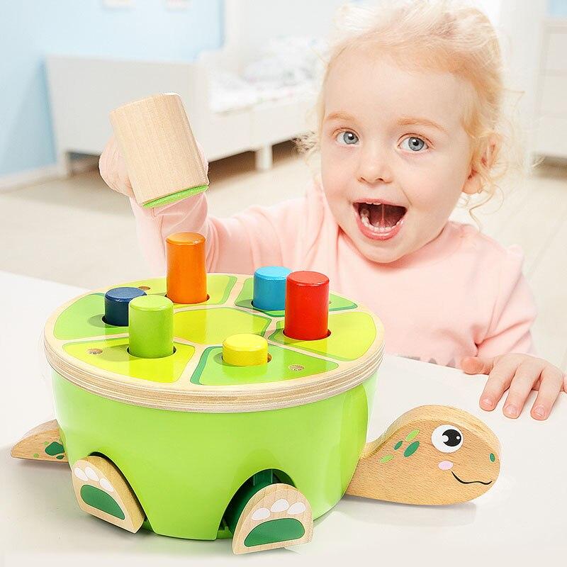 TOPBRIGHT tortue bat la scène des jouets pour enfants puzzle bébé jouets éducatifs précoces